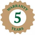 five-year-warranty